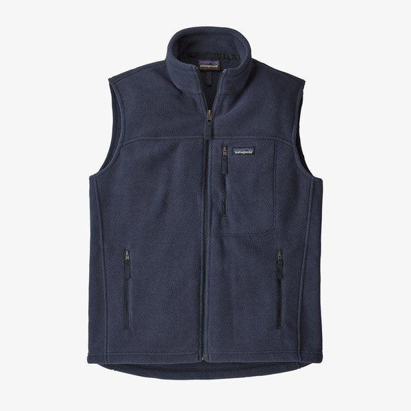 Patagonia Men's Classic Synchilla Fleece Vest - Navy / L