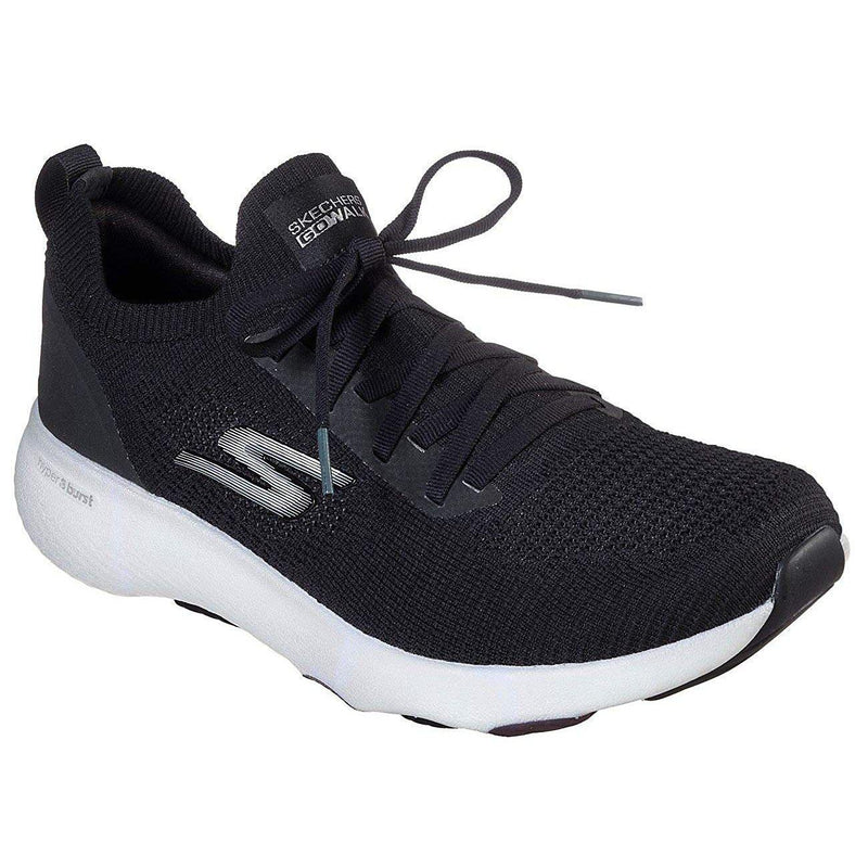 Skechers Men's Go Walk Hyper Pace Walking Shoe - Black/White / 8.5