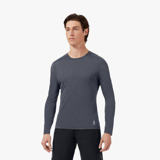 ON Running Men's Performance Long-T - Dark / Extra Large