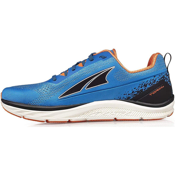Altra Men's Torin 4 Plush Road Running Shoe - Blue/Orange / 14