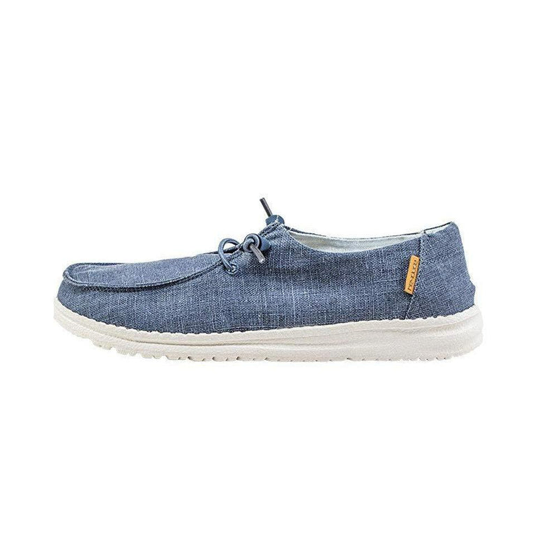 Hey Dude Women's Wendy Chambray Denim Loafer