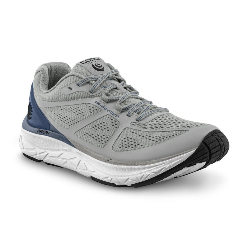Topo Athletic Mens Phantom Running Shoe - GREY/BLUE / 10