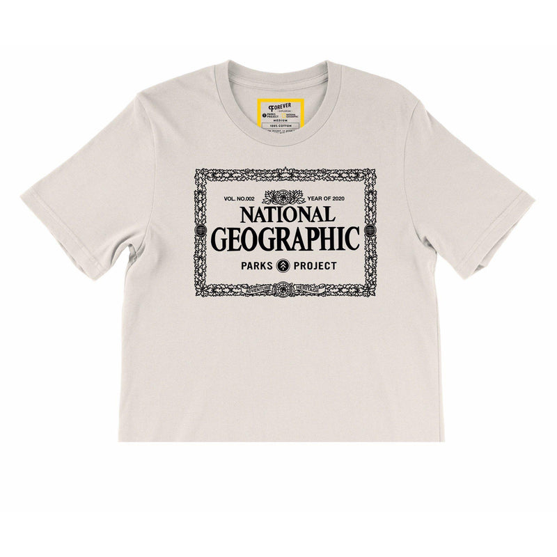 Parks Project National Geographic x Parks Project Legacy Border Cropped Tee - [variant_title]