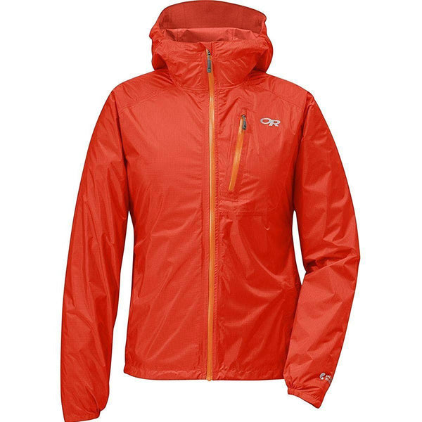 Outdoor Research Women's Helium II Jacket - lava / Large