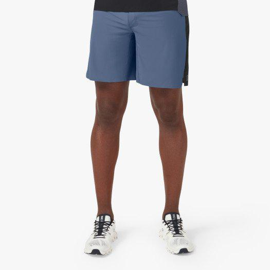 On Running Men's Lightweight Shorts - Cerulean | Black / Extra Large