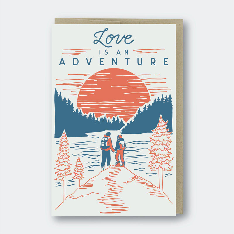 Pike Street Press Love Adventure Card - Default Title