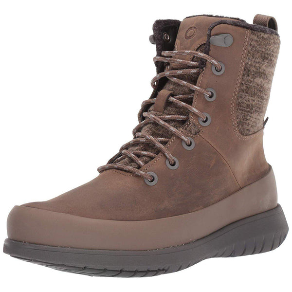 BOGS Women's Freedom Lace Waterproof Insulated Winter Snow Boot - Taupe / 11