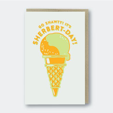 Pike Street Press Sherbert- Day Card - Default Title