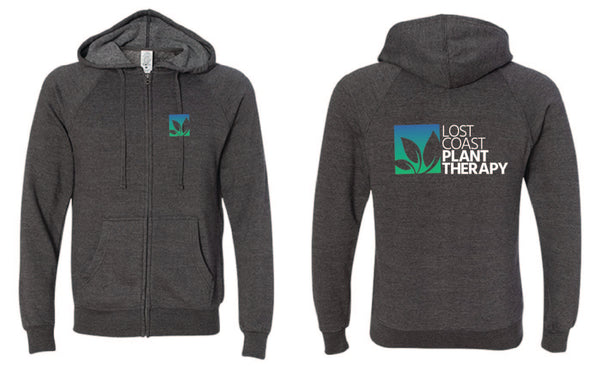 Zip-up Hoodie - Metal Grey
