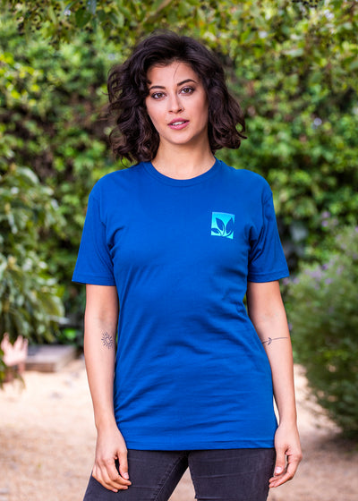 Short Sleeve T-Shirt - Blue