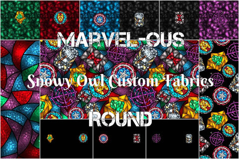 Marvel-ous Stained Glass Collection