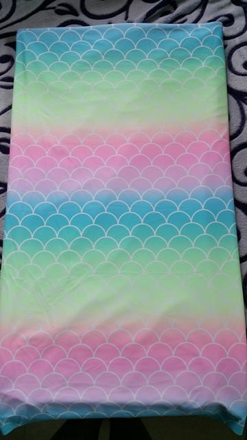 Mermaid Scales Pastel Rainbow Swim Knit    **Original - 1st run**
