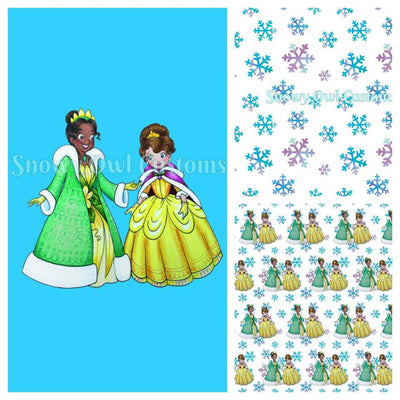 Winter Princesses Flawed PANELS - RETAIL