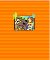 Mystery Gang Picture Panel Orange - ON SALE!