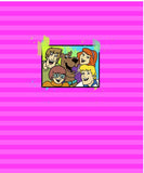 Mystery Gang Picture Panel Pink - ON SALE!