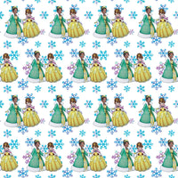 Winter Princesses Cotton Lycra