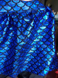Royal Blue Mermaid Foil Knit R3 - ON SALE!