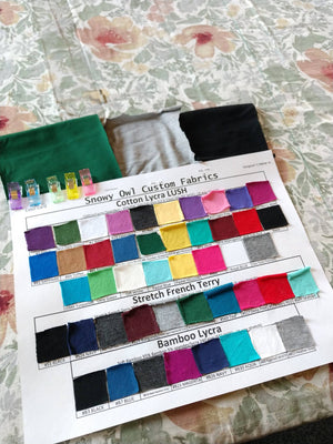 Color Card Fabric Samples