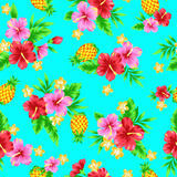 Tropical Pineapple (Aqua)