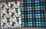 SOC Plaid BUCKS - AQUA ON SALE Remnant