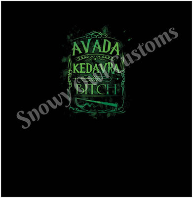 Avada Kedavra Bitch Panel (C/L & B/L)