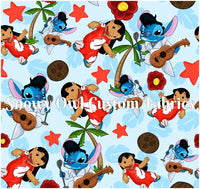 Blue Rockin' Stitch - ON SALE!!