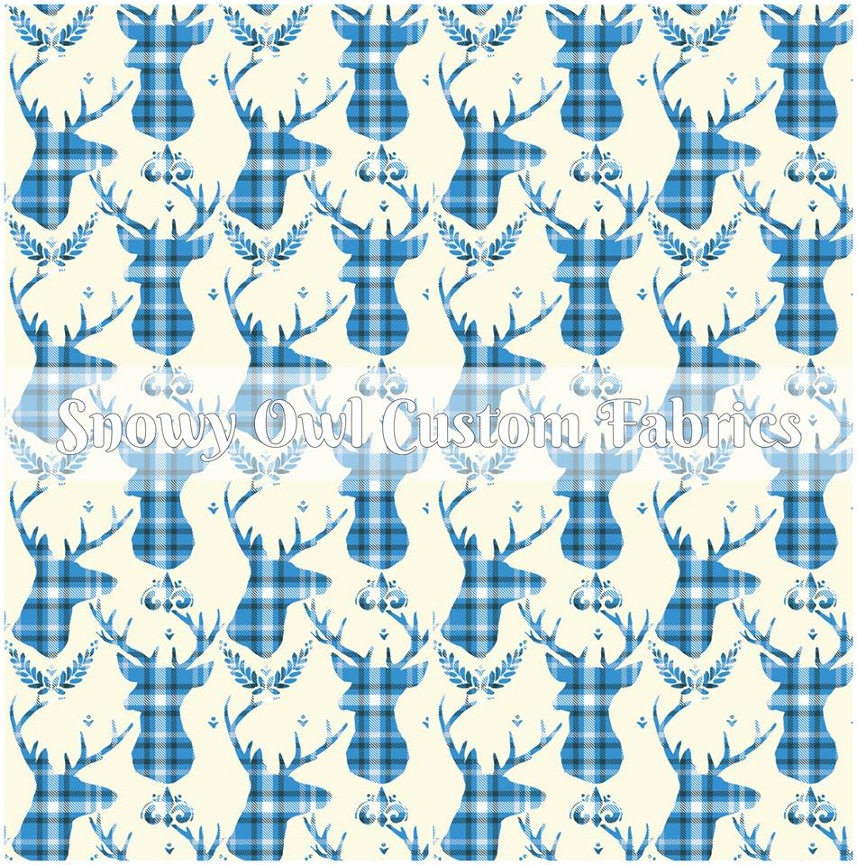Winter Plaid Bucks - ON SALE!