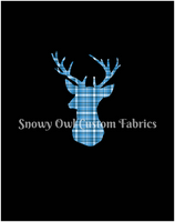 Winter Bucks Panel  (Black) - ON SALE!