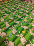 Bunnies EASTER KNIT FABRIC