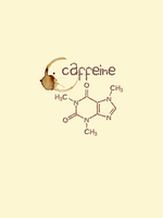 Caffeine Molecule - Panel - ON SALE!