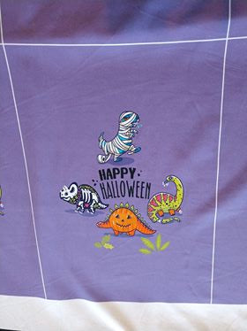 Happy Dino Panel  (Lavender)