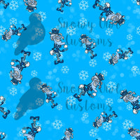 Snow Brother Print Cotton Lycra                          **CLEARANCE**