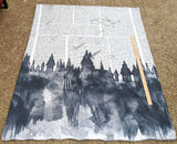 HP Castles 2 Yard Blanket Topper's