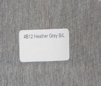 #B12 Heather Grey  Bamboo/Lycra - 70