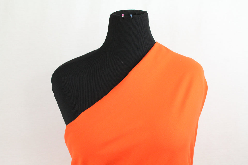 "Orange Lush  - 70"" WOF CL knit   - ON SALE!"