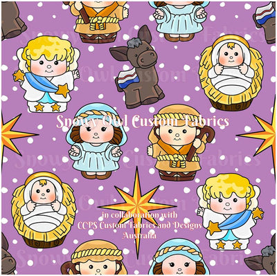 Little Nativity  (Lavender)