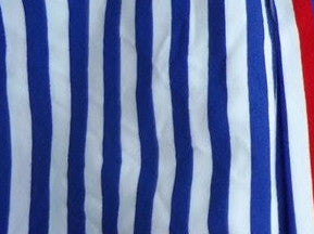 Navy/White Stripes (yarn-dyed) - ON SALE!