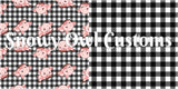 Black Gingham - ON SALE!