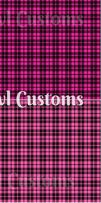 SOC Plaid - Hot Pink & Bubblegum Pink ON SALE