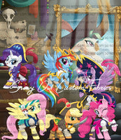 Pirate Captain Panel  ** Rainbow Dash **