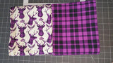 SOC Plaid BUCKS Purple - ON SALE