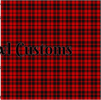SOC Plaid Collection Red - ON SALE