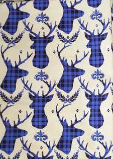 SOC Plaid BUCKS - Royal Blue - ON SALE