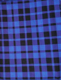 SOC Plaid - Royal Blue - ON SALE