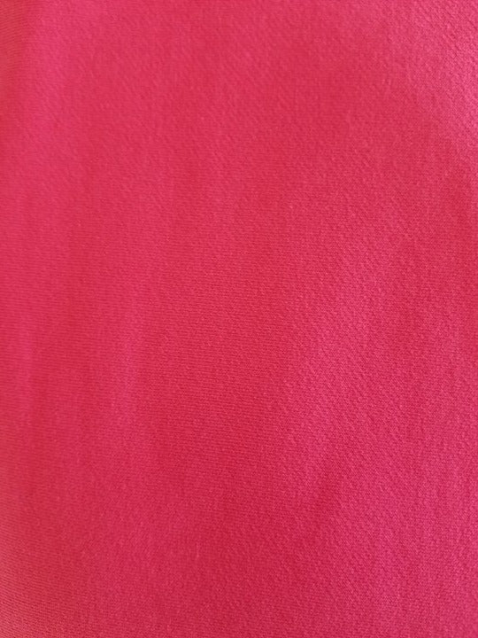 "#S17  Deep PINK  Stretch French Terry - 70"" WOF"