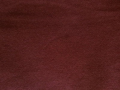 #S26 Burgundy Stretch French Terry - 70