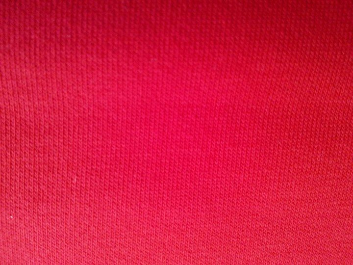 "#S79 Very RED Stretch French Terry - 70"" WOF"