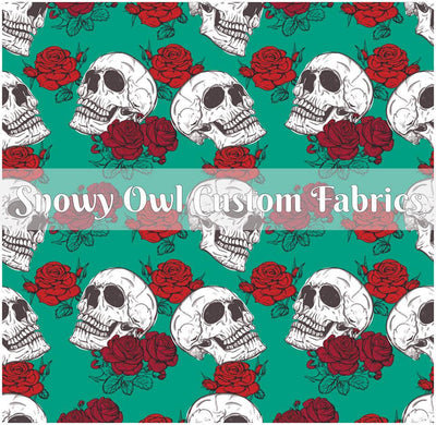 Skull and Roses - ON SALE!