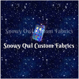 Space Tardis Panel - RETAIL - ON SALE!
