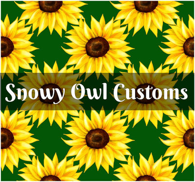 Sunflowers Remnant (Green) - RETAIL - ON SALE!